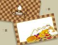 十姉妹×パンケーキのメッセージカード