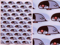 クリアファイル エクレア文鳥