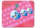 マウスパッド キーボード セキセイ/青