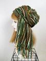 1866 布巻き帽:織り巻き緑