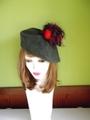 ポンポンベレー帽