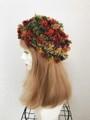 1782 夢見る花ベレー:紅葉(深くかぶれるタイプ)