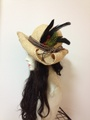 1102 真夏の海賊帽子その2 羽根付 三角帽