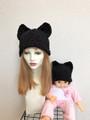 1554 親子おソロの猫耳帽子