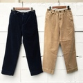 "H.UNIT STORE LABEL ""9W Corduroy Wide Trousers"""