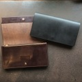 "ANCHOR BRIDGE  ""Bridle Leather Long Wallet"""