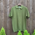 "ISLAND KNIT WORKS ""10G Links Polo Shirt"""