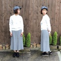 "ID DAILYWEAR ""Serge Pleats Long Skirt"""