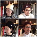 "Anachronorm ""BEAT INITIAL KNITCAP by DECHO"""