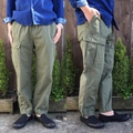 "H.UNIT STORE LABEL ""Canvas Easy Pants"""