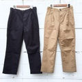 "H.UNIT STORE LABEL ""C/L Chino Tuck Trousers"""