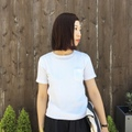 "RIDING HIGH ""Seersucker Jersey Pocket Tee"""