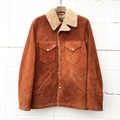 "Anachronorm ""Suede Boa Ranch Coat"""