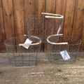 "PUEBCO ""Rattan Handle Wire Basket"""