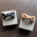 "ANCHOR BRIDGE ""Leather Bow Tie"""