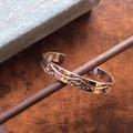"""Gypsy&sons x NORTH WORKS """"EGL Stamped Cuff Bracelet (narrow)"""""""