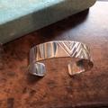 """Gypsy&sons x NORTH WORKS """"EGL Stamped Cuff Bracelet (wide)"""""""