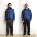 """Anachronorm """"Indigo Grosgrain Field Jacket"""""""