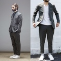 "ID DAILYWEAR ""W/P Stretch Fake collar Jacket"""