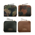 "ANCHOR BRIDGE ""Camouflage Short Zip Wallet"""