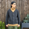 "RIDING HIGH ""Tweed Nep Fleece Cardigan"""