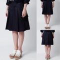 "ID DAILYWEAR ""Finx Herringbone Tuck Skirt"""