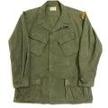 ~70s U.S.ARMY RIP STOP JUNGLE FATIGUE JACKET.