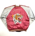 "50s JAPAN SOUVENIR JACKET. ""TIGER HEAD"""