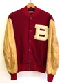 50s Baldwin's BUTTON FRONT VARSITY JACKET.
