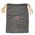 """W.W.I. AMERICAN RED CROSS """"HICKORY"""" COTTON BAG."""