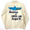 "~60s McGREGOR ""THUNDERBIRDS"" CAR CLUB JACKET."
