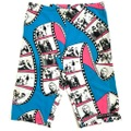 """80s LIFE'S A BEACH """"THE THREE STOOGES"""" PRINT SHORTS."""