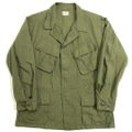"""70s U.S.ARMY ONE WASHED """"4th."""" JUNGLE FATIGUE JACKT."""