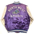 50s~ MATTSONS RACING JACKET with MIDGET RACE EMBROIDER.