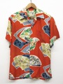 50s IOLAN. JAPANESE PRINT. HAWAIIAN SHIRT.