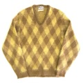 60s BRENTWOOD MOHAIR KNIT SWEATER.