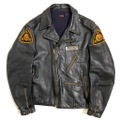 40s HORSE HIDE LEATHER SPORTS JACKET.