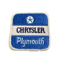 "OLD ""CHRYSLER PLYMOUTH"" PATCH."