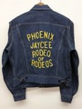 60s Lee. 101-J. RODEO EMBROIDED DENIM JACKET.
