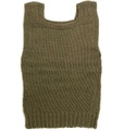 W.W.II. AMERICAN RED CROSS MILITARY HAND KNIT VEST.