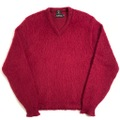 """~60s TRUMPETER """"THE BEARCAT"""" MOHAIR KNIT SWEATER."""