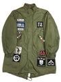 "70s U.S.ARMY M-65 FIELD PARKA ""SKINS CUSTOM"""