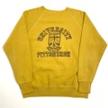 60s Univ.of Pitt COLLEGE SWEAT.