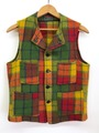 40s CHIPPEWA WOOL VEST.