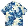 50s KILOHANA JAPANESE PATTERN HAWAIIAN SHIRT.