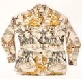 60s Abercrombie&Fitch. Safari pattern OUTDOOR JACKET.