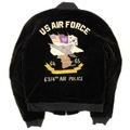 60s U.S.AIR FORCE SOUVENIR JACKET.