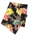 "50s ""BLACK BASE"" HAWAIIAN BARK CLOTH."