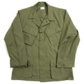 "70s U.S.ARMY DEAD STOCK ""4th."" JUNGLE FATIGUE JACKET."
