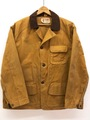 60s BROWN'S BEACH HUNTING JACKET.
